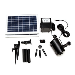 Timer Control 16-watt Solar Water Pump With Remote Control