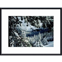 John K. Nakata 'First Snow' Framed Art Print