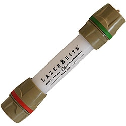 Lazerbrite Single Mode Red and Green Flashlight