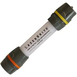 Lazerbrite Multi-Lux Yellow and Orange Lightweight LED Flashlight