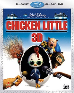 Chicken Little 3D (Blu-ray/DVD) 8321552
