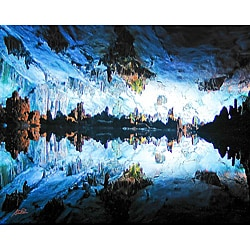 Stewart Parr 'Guilin, China Reed Flute Cave' Unframed Photo Print