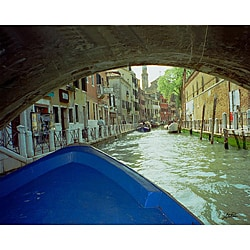Stewart Parr 'Venice, Italy on the canals' Unframed Photo Print