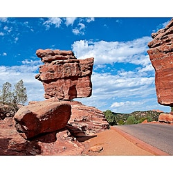 Stewart Parr 'Colorado - Balanced Rock at Garden of the Gods' Unframed Photo Print
