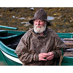 Stewart Parr 'Iceland, Isafjordur - Old Man of the Sea' Unframed Photo Print