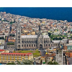 Stewart Parr 'Quito, Ecuador - Hillside View of City' Photo Print