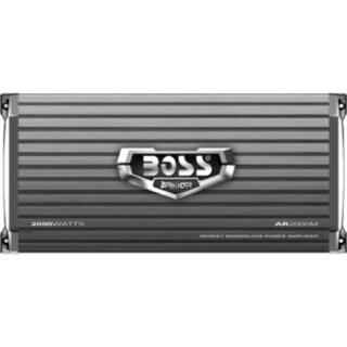 Boss ARMOR AR2000M Car Amplifier - 1000 W RMS - 2000 W PMPO - 1 Chann
