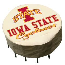 NCAA Iowa State Cyclones Round Patio Set Table Cover 8334163