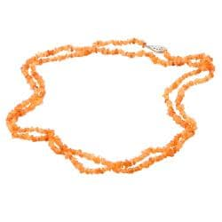 Michael Valitutti Spessartite Chip Necklace