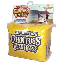 Driveway Games Yellow All-weather Corntoss Bean Bag Game
