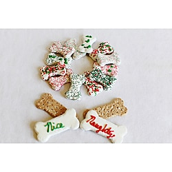 Foppers 12 Days of Christmas Naughty and Nice Dog Treat Bones
