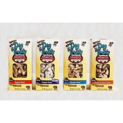 Foppers 8-ounce 4-flavor All Natural Baked Dog Treats (Pack of 4)