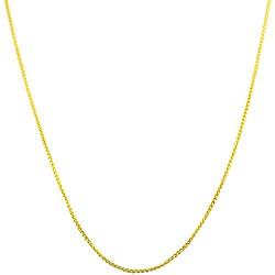 Fremada 14k Yellow Gold Round Wheat Chain (18-inch)