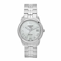 Tissot Men's T0494101103301 PR100 Silver Stainless Steel Watch