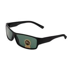 Unisex Onyx Black Fashion Sunglasses with Plastic Frame