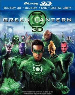 Green Lantern - Extended Cut (Blu-ray 3D / Blu-ray / DVD) 8352566