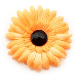 Orange and Black Harvest Flower