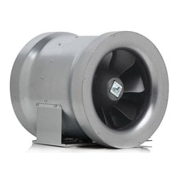 CAN 12-inch Max Fan Mixed Flow Inline Fan
