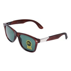 Unisex Noir Brown Fashion Sunglasses