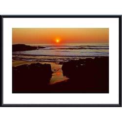 John K. Nakata 'Sunset' Framed Print Art 8355442