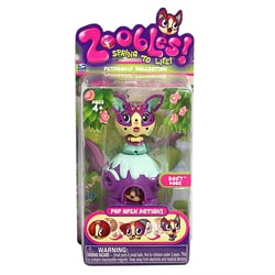 Zoobles Dog and Happitat Toy