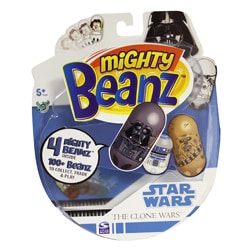 Mighty Beanz Star Wars Clone Wars 4-pack Toy Set