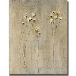 Peter Kuttner 'Vanilla Bloom I' Canvas Art