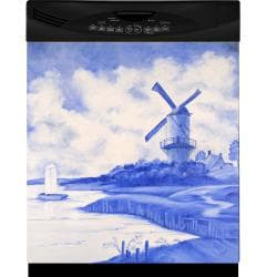 Appliance Art 'Blue Windmill' Dishwasher Cover