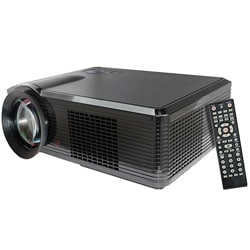 Pyle Portable LED Projector for Gaming TV Shows Movies and Sports at Up To 100 Inches / Supports HD Input 8364477