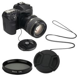 INSTEN Lens Filter/ Lens Cap/ Lens Cap Holder for Camera