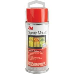 Spray Mount 4-oz Artist's Adhesive