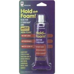 Hold the Foam! 2-oz Styrofoam Glue