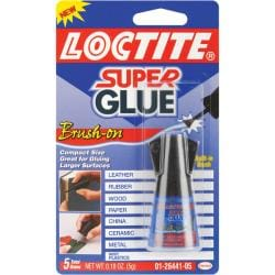 Loctite 0.18-oz Super Glue Brush On