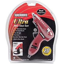Dual-temp Ultra Red Mini Glue Gun