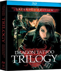Dragon Tattoo Trilogy: Extended Edition (Blu-ray Disc) 8373955