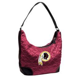 Washington Redskins Quilted Hobo Handbag