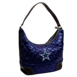 Dallas Cowboys Quilted Hobo Handbag