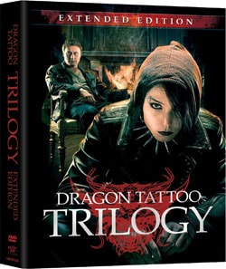 Stieg Larsson's Dragon Tattoo Trilogy - Extended Edition (DVD) 8387689