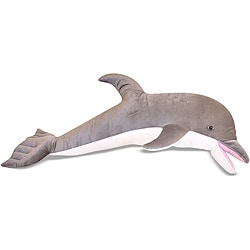 Melissa & Doug Plush Dolphin Animal Toy (As Is Item)