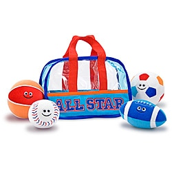 Melissa & Doug Sports Bag Fill and Spill Toy Set 8396538