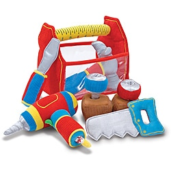 Melissa & Doug Toolbox Fill and Spill Play Set