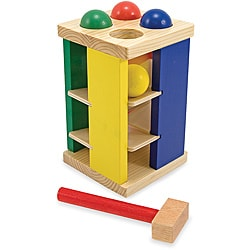 Melissa & Doug Pound and Roll Tower Play Set 8396569