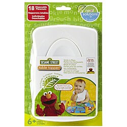 Neat Solutions Sesame Street Table Topper with Travel Case (18 count)