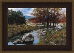 Greg Glowka 'Cypress Creek' Framed Print