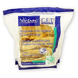 C.E.T. Large Dog Dental Chews (30 Count)