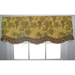 Yellow Orvietto Glory Valance