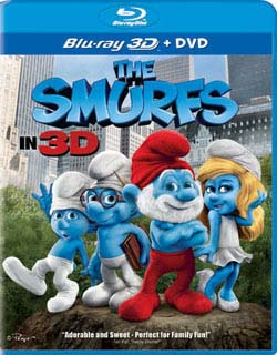 The Smurfs 3D (Combo) (Blu-ray/DVD) 8408887