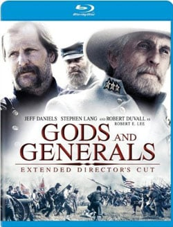 Gods and Generals: Extended Director's Cut (Blu-ray Disc) 8408902