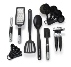 KitchenAid Black 15-piece Tool and Gadget Set