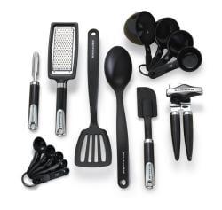KitchenAid Black 15-piece Tool and Gadget Set